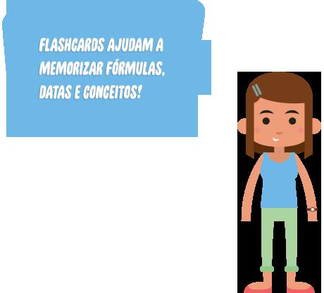 Flashcards para Vestibular